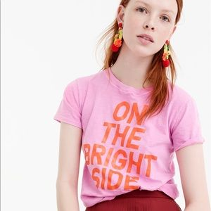 On the bright side j.crew t-shirt
